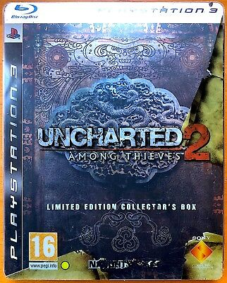 Uncharted 2 - Among Thieves - Limited Edition Collector's Box - PS3 Games
