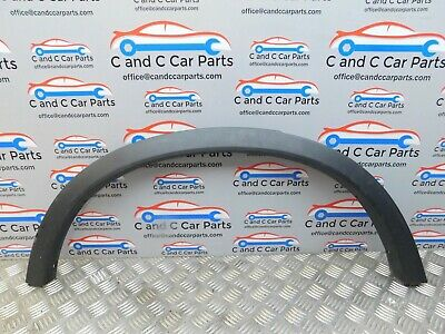 Bmw X3 F25  Right Rear Driver Wheel Arch Cover 7210084   21.2