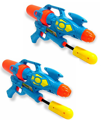"2 X Giant 16.5"" Water Gun Super Pump Action Cannon Shooter Soaker Pistol 651"