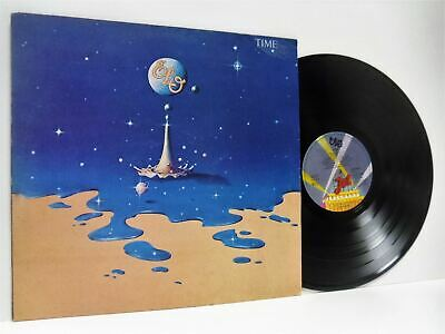 ELECTRIC LIGHT ORCHESTRA (ELO) time LP EX/VG JETLP 236, vinyl, with lyric inner