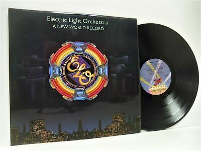 ELECTRIC LIGHT ORCHESTRA (ELO) a new world record (1st uk press) LP EX+/EX prog