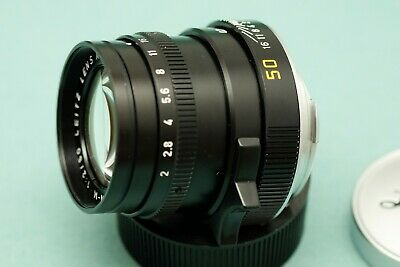 Leica SUMMICRON-M 50mm F2 Lens with maker's box