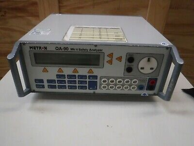 Metron Qa-90 Electrical Safety Analyser Testing Unit.