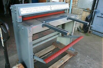 EDWARDS PEDICUT GUILLOTINE 1005 x 1.5mm