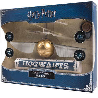 Harry Potter Golden Snitch Heliball Flying Toy