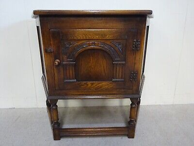 Bevan And Funnel credence table Antique Oak Hall Table