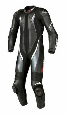 Dainese Aspide One 1 Piece Racing Track Motorbike Motorcycle Black Suit 48 38