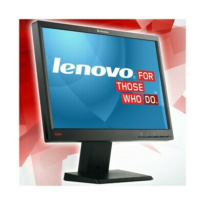 "Monitor Schermo Pc Lcd Lenovo Thinkvision Lt1952P 19 Pollici 19"" 16:9 Widescreen"