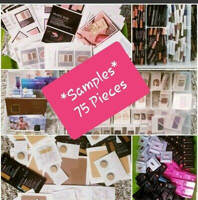 *75 piece Lot of Mary Kay Samples - FREE SHIPPING - PLEASE READ DESCRIPTION *