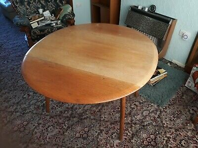 Vintage Retro Ercol Drop Leaf Table ONLY.1960s.
