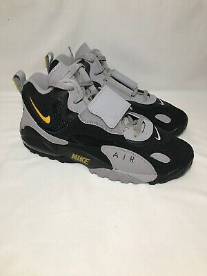 NIKE AIR MAX Speed Turf Grey And Black Size 12 Great