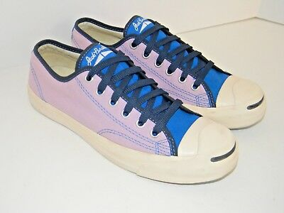 fd07a4c7541 JACK PURCELL Converse Solid Low Top Canvas Sneaker Purple Royal Size W 8.5   M7