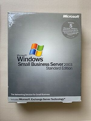 Trustful Windows Sbs Std 2003r2 1-2cpu 5cal Rok Operating Systems Software