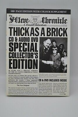 jethro tull thick as a brick 40th anniversary