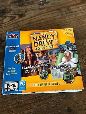 Nancy Drew Dossier The Complete Series Lights, Camera, Curses! and Resorting
