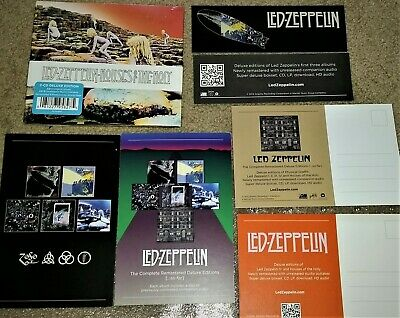 Led Zeppelin Houses of the Holy 40th Anniversary 2 CD DELUXE Edition PLUS Bonus!