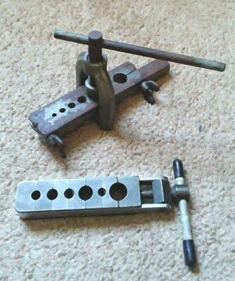 FLARING TOOLS INDESTRO 386 USA and GOULD IMPERIAL PRE-OWNED