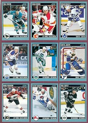1992-93 Score Canadian Nhl Hockey Card 257 To 384 See List