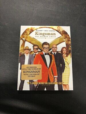 Kingsman The Golden Circle Pre-owned Bluray And DVD Disc Set
