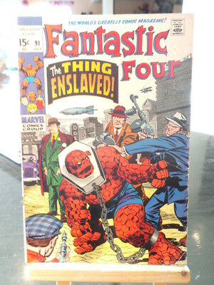 Fantastic Four Vol. 1 #91 - Marvel Comics VO US