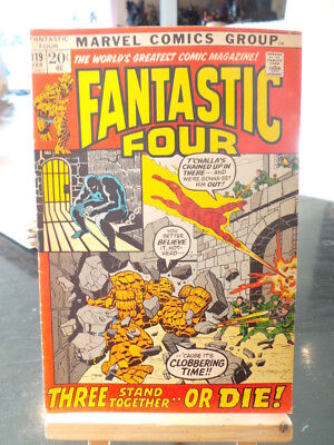 Fantastic Four Vol. 1 #119 - Marvel Comics VO US
