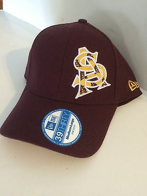 ba8921e1 ARIZONA STATE SUN Devils New Era 39Thirty Steretch fit hat M/L ...
