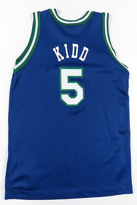 Jason Kidd Dallas Mavericks Champion Basketball Nba  5 Youth Large Vintage  90S 74d7706b4