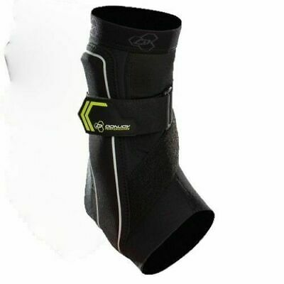 "DonJoy Bionic Ankle DJO Performance Brace Support NEW MED 8.5-9.5"" Black/Green"