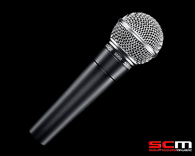Shure SM58 Dynamic Stage Microphone with Mic clip, case & cable tie GENUINE!