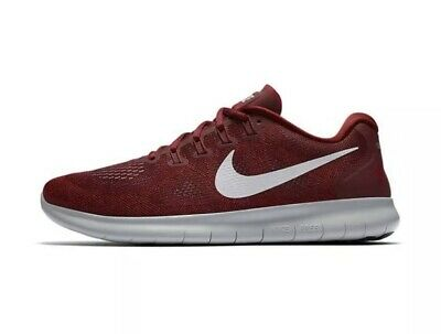 5616671a8cb NIKE FREE RN 2017 Team Red Wolf Grey 880839-606 Men s Running Shoes ...