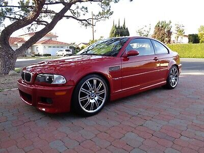 2003 BMW M3 Coupe 2003 BMW M3 E46 COUPE - 6 SPEED MANUAL - IMOLA RED / BLACK - 37K MILES