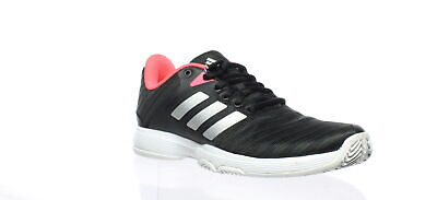 low priced 1c2bf e964c Adidas Womens Barricade Court Black Tennis Shoes Size 6 (180402)