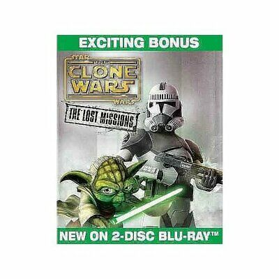 Star Wars: The Clone Wars - the Lost Missions [Blu-ray],New DVD, Ashley Exckstei