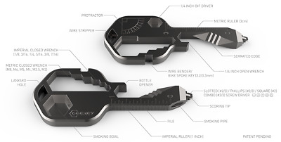 GEEKEY – Multi Tool Key, Ultimate Utility,Equipped For All Your Adventures