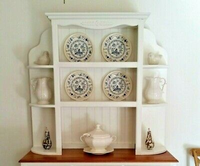 Vintage Shabby Chic French Provincial Buffet And Hutch