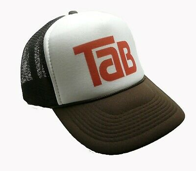 Vintage Tab Cola Hat Trucker hat adjustable Snap Back hat brown New soda cap cba2e441c461