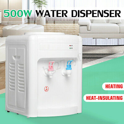 Electric Water Cooler Table Dispenser Purifier Home Office For 5L/7.5L/10L/18.9L