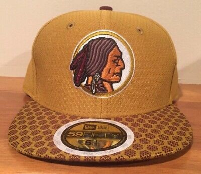 29144c89ca25c Washington Redskins New Era NFL Youth On Field 59FIFTY Fitted Cap Hat 6 1 2