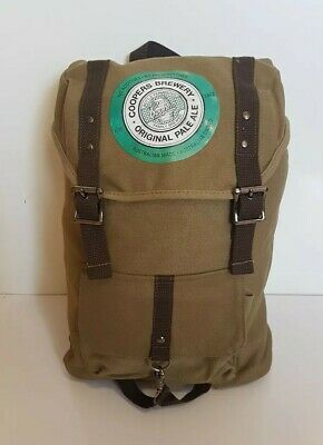 Coopers Pale Ale Backpack Bag Beer Brewery Promo Rucksack Canvas Style BRAND NEW