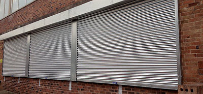 New Commercial Electric Garage / Yard / Shop Roller Shutter - Made To  Suit