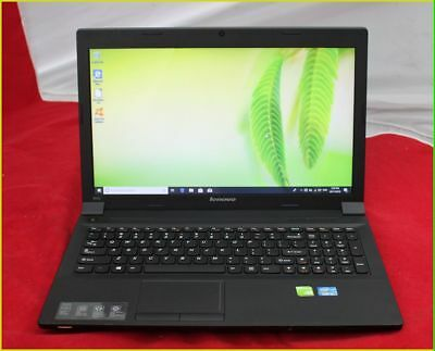 "Laptop Pc Lenovo B590 Core I5 2.6Ghz 8Gb 500Gb Dvdrw Wifi Webcam Win10 15.6"" Lcd"