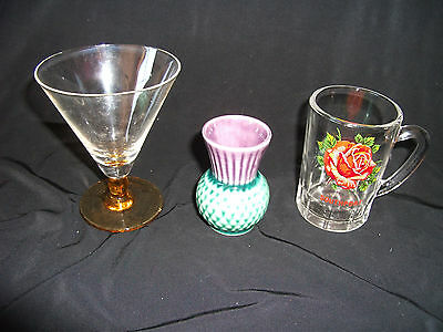 **Bargain** Glass & Pottery items - Ref E  II