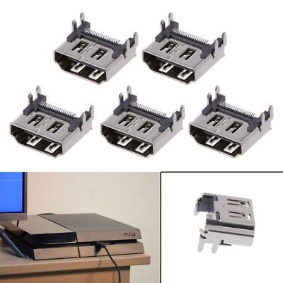 5Pc Replace Display HDMI Port Socket Jack Connector For PlayStation PS4 Pro Slim