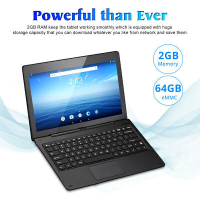 """11.6"""" Android6.0 2+64GB 2Cam WIFI HDMI OTG G-sensor 2-in-1 Tablet PC Nextbook FR"""