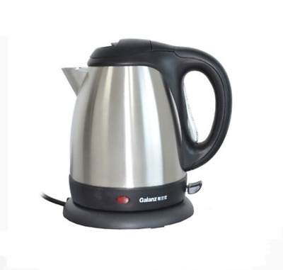 Galanz Cordless Electric Kettle Stainless Steel Fast Boil Jug 360º  1.7L 2000W
