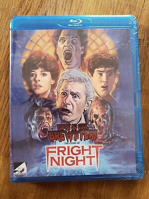 FRIGHT NIGHT Documentary You're So Cool Brewster! Blu Ray/DVD 3-Disc Combo - OOP