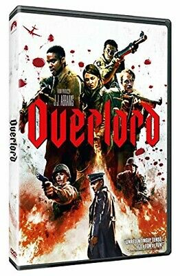 Overlord 2019 BRAND NEW ORIGINAL Movie DVD 4K Blu-ray FREE TWO DAYS SHIPPING