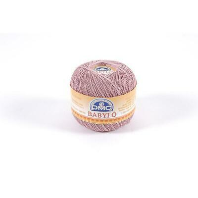 50g Ball DMC Babylo 10 Crochet Cotton Colour 415 Pearl Grey