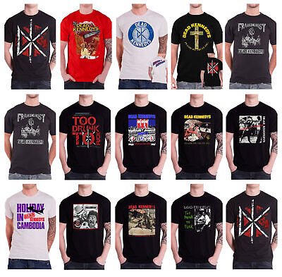 Dead Kennedys Man With The Dogs Punk Kill The Poor Retro T shirt 1486