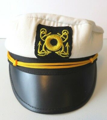 ADULT CRUISE SHIP Yacht Captain Hat Costume Accessory Fm56771 ... e07222135a3f
